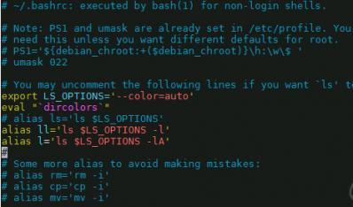 一次解决Linux下-bash: ll: command not found,语法、目录不高亮显示的问题